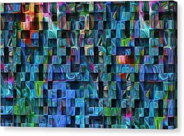 Cubed 3 Canvas Print by Jack Zulli