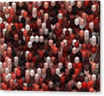 Cubed Again Canvas Print by Jack Zulli