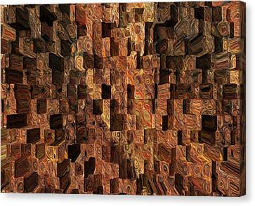 Cubed Canvas Print by Jack Zulli