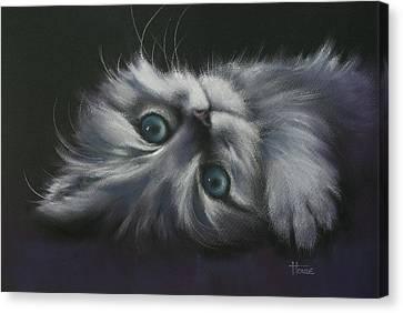 Cuddles Canvas Print by Cynthia House
