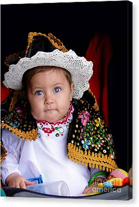 Cuenca Kid 561 Canvas Print by Al Bourassa