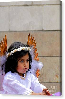 Cuenca Kids 296 Canvas Print by Al Bourassa