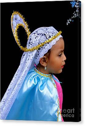 Cuenca Kids 363 Canvas Print by Al Bourassa