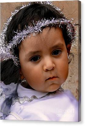 Cuenca Kids 372 Canvas Print by Al Bourassa