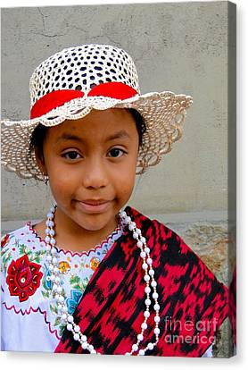 Cuenca Kids 384 Canvas Print by Al Bourassa