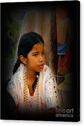 Cuenca Kids 551 Canvas Print by Al Bourassa