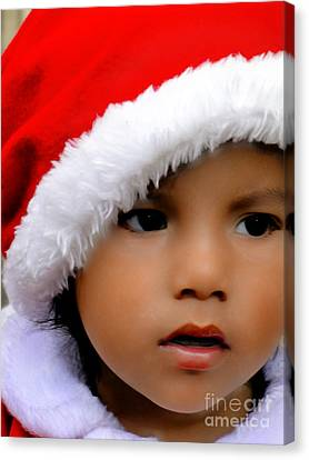 Cuenca Kids 570 Canvas Print by Al Bourassa