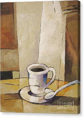 Cup Of Coffee Canvas Print by Lutz Baar
