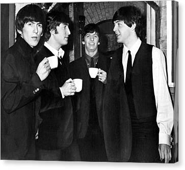 The Beatles Canvas Print by Retro Images Archive