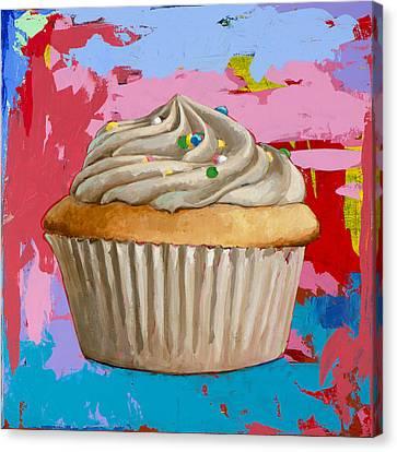 Cupcake #4 Canvas Print by David Palmer