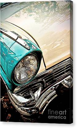Curb Appeal Canvas Print by Andrew Brooks
