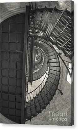 Currituck Lighthouse Stairs Canvas Print by Kay Pickens