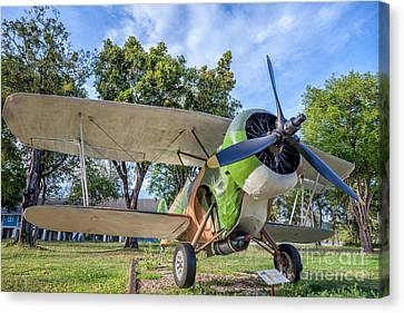 Curtiss Hawk IIl Canvas Print by Adrian Evans