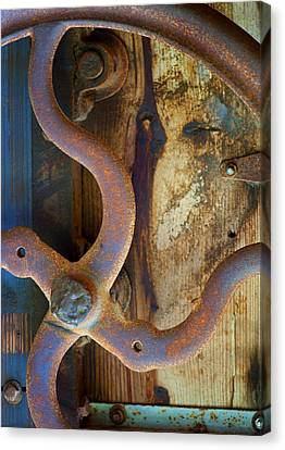 Curves And Lines II Canvas Print by Stephen Anderson