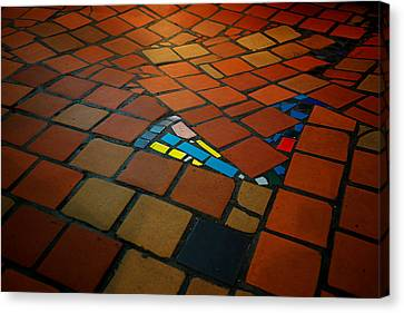 Curvy Floor Canvas Print by Ivan Slosar
