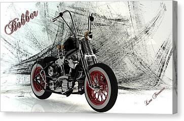 Custom Bobber Canvas Print by Louis Ferreira