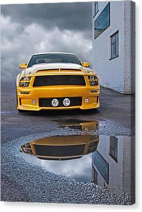 Custom Exotics - Mustang Gtr Canvas Print by Gill Billington