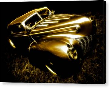 Custom Ford Roadster Canvas Print by Phil 'motography' Clark