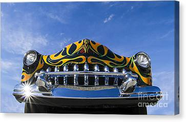 Custom Merc - Metal And Speed Canvas Print by Holly Martin