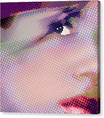 Custom Portrait Family 1 Adult Daughter 1 Canvas Print by Tony Rubino