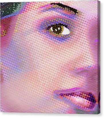 Custom Portrait Family 1 Adult Daughter 2 Canvas Print by Tony Rubino