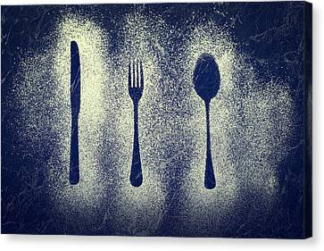 Cutlery Series Canvas Print by Amanda And Christopher Elwell