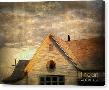 Cyclops House Canvas Print by Gregory Dyer