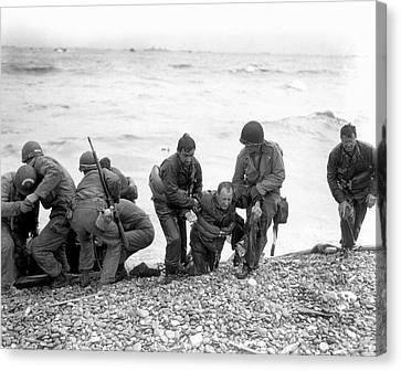 D-day Landings Canvas Print by Us Army
