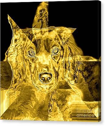 Dachshund Art Canvas Print by Maria Urso