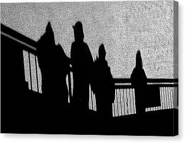 Dad And Three Boys Canvas Print by Tom Gari Gallery-Three-Photography