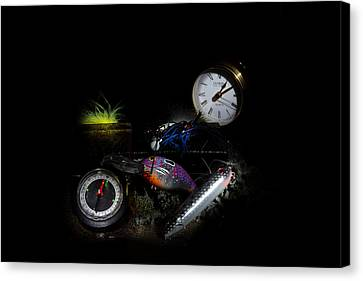 Dad's Stuff Canvas Print by Cecil Fuselier