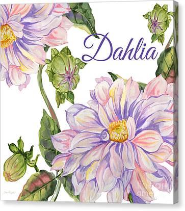 Dahlia-jp2593 Canvas Print by Jean Plout