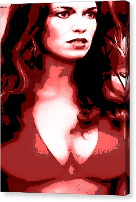 Daisy Duke Dark Variation Canvas Print by J Anthony
