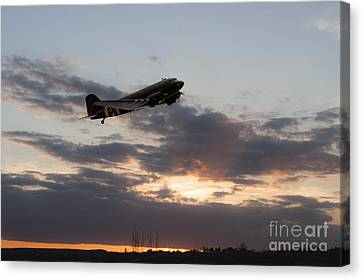Dakota Sunset  Canvas Print by J Biggadike