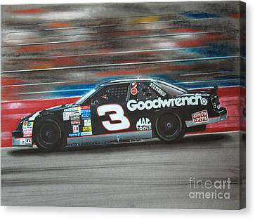 Dale Earnhardt Goodwrench Chevrolet Canvas Print by Paul Kuras