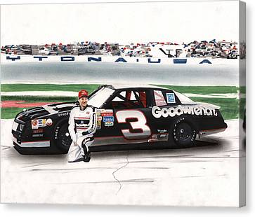 Dale Earnhardt Goodwrench Monte Carlo Canvas Print by Paul Kuras