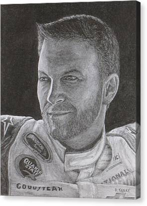 Dale Earnhardt Jr. 2 Canvas Print by Rick Yanke