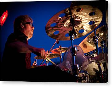 Dale Keeney Of The Fabulous Kingpins Canvas Print by David Patterson