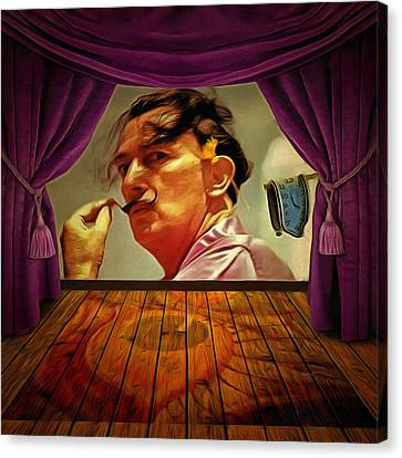 Dali Canvas Print by Anthony Caruso