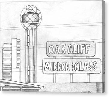 Dallas Canvas Print by Michael Lewis