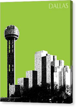 Dallas Reunion Tower Canvas Print by DB Artist
