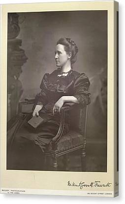 Dame Millicent Fawcett Canvas Print by British Library