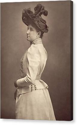 Dame Nellie Melba Canvas Print by Stanislaus Walery