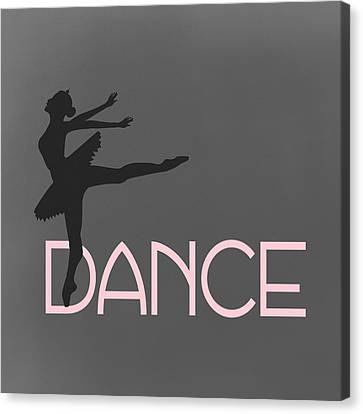 Dance Ballerina Canvas Print by Flo Karp