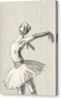 Dance Canvas Print by H James Hoff