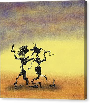 Dance I Canvas Print by Manuel Sueess