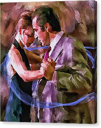 Dance Me To The End Of Love 1 Canvas Print by Yury Malkov
