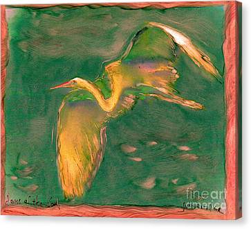Dance Of The Soul Canvas Print by FeatherStone Studio Julie A Miller