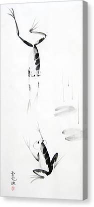Dance With Me Canvas Print by Oiyee At Oystudio