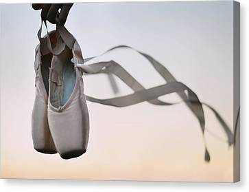 Dance With The Wind Canvas Print by Laura Fasulo